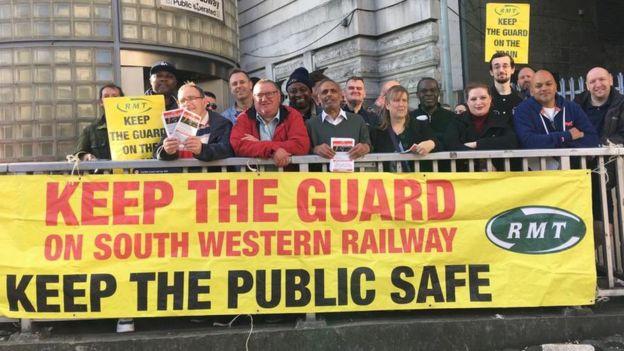 ingiltere demiryollarında grev