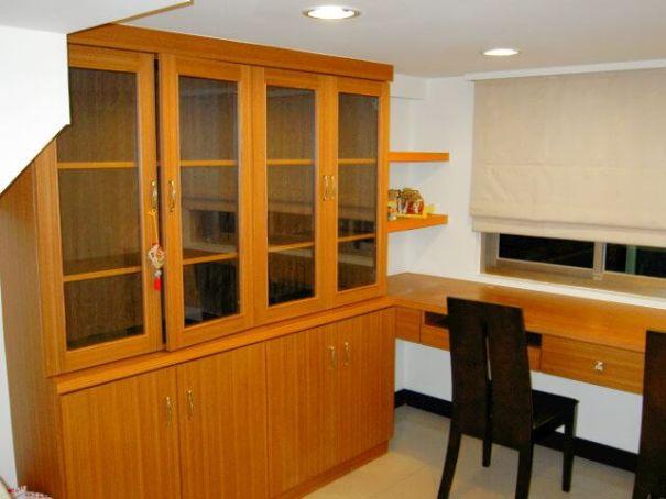 新店木工裝潢-書櫃書桌裝潢