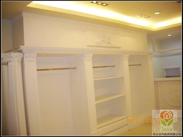 木工裝潢-服裝展示櫃裝潢