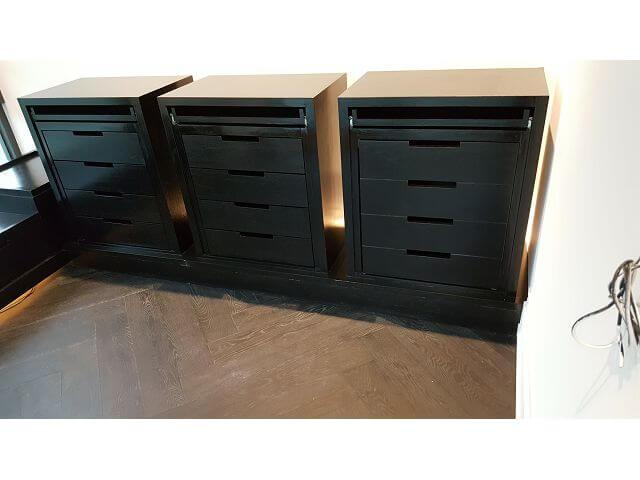 木工裝潢-主臥更衣室裝潢