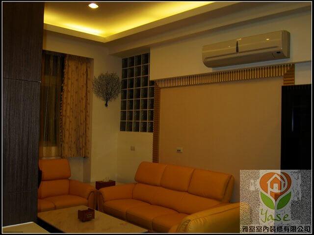 客廳裝潢沙發背景牆
