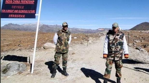 bharat china border