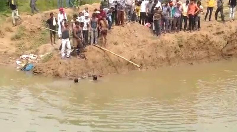 Katni Seawase Plant Hadsa :  नगर निगम की बड़ी लापरवाही, सीवर लाइन के लिए बनाए ट्रीटमेंट प्लांट में भाई बहन की जलसमाधि