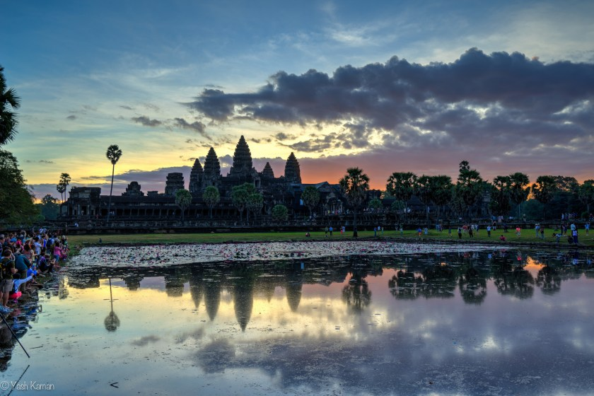 Angkor Exposure Blend Pre Dawn