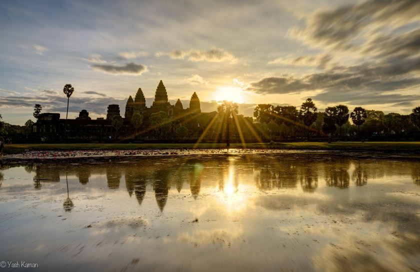 Angkor Exposure Blend Sunrise