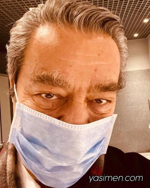 kadir inanır maske taktı