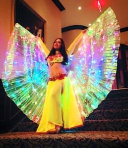 Yasmine Belly Dance Wings