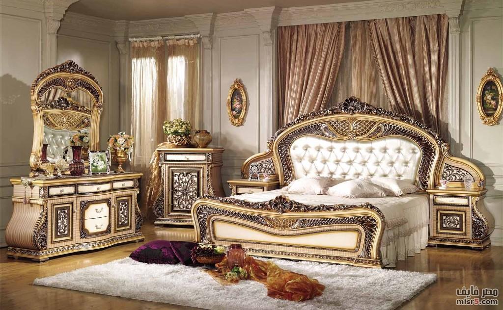صور غرف نوم ستيل و كلاسيك بمصنع و معرض الشناوى للأثاث المصرى