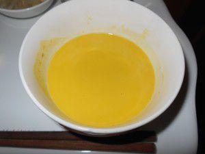 20150131かぼちゃのスープを皆で作りました。5