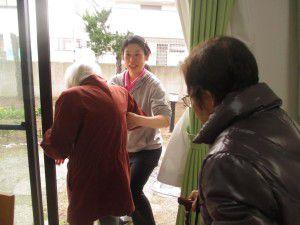 20150115花小金井で避難訓練を行ないました。2