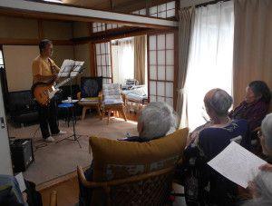 20150614やすらぎ邸では音楽イベントを強化しております。3