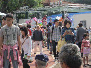 20151022練馬祭りが豊島園で開催されていたため、歩いて行ってきました♪