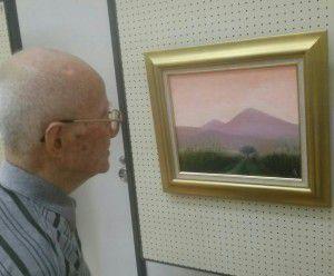 20150523絵の団体の展示会にお邪魔しました!2