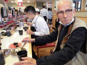 20151007連チャンで、念願の回転寿司へ行って来ました!5