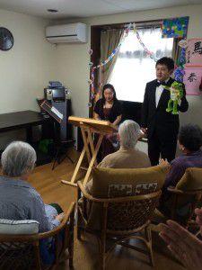 20150614やすらぎ邸では音楽イベントを強化しております。5