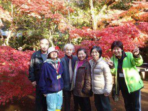 20141124新座市の平林寺に紅葉を観に出かけました。2