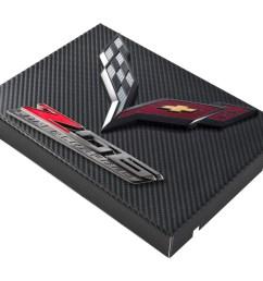 2014 c7 corvette black carbon fiber style fuse box cover black flags z06 [ 1400 x 1091 Pixel ]