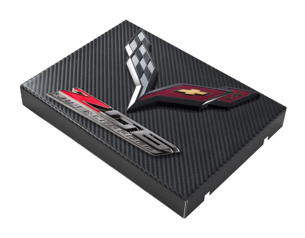 medium resolution of 2014 c7 corvette black carbon fiber style fuse box cover black flags z06