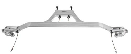 small resolution of 2008 2015 dodge challenger v8 billet aluminum engine strut tower brace bar