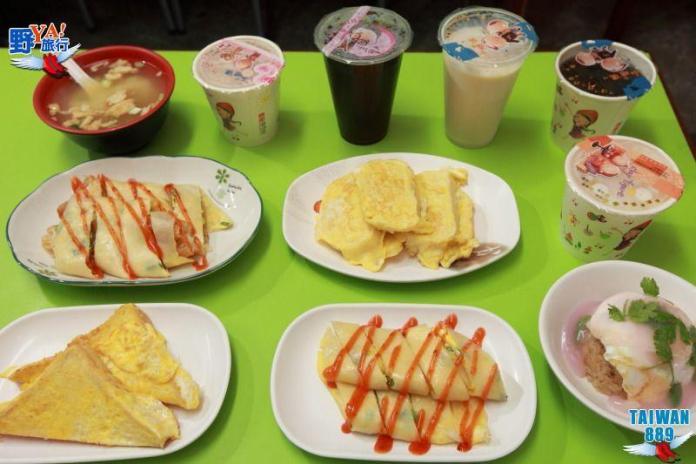 阿發米糕供應多種傳統的中西式早餐,每一種看起來都很可口。