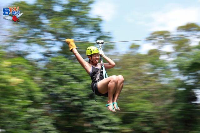 海岸山脈Joungle Flight叢林探險 @YA !野旅行-吃喝玩樂全都錄