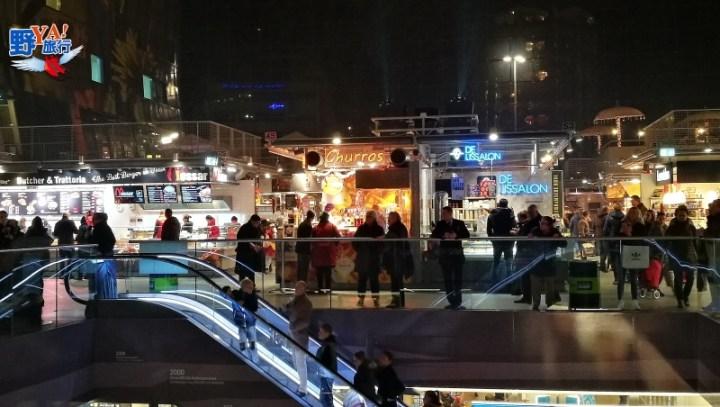 全球最炫的菜市場-鹿特丹時尚市集markthal rotterdam @YA !野旅行-吃喝玩樂全都錄
