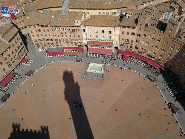 義大利托斯卡尼Siena扇形廣場 @YA !野旅行-吃喝玩樂全都錄