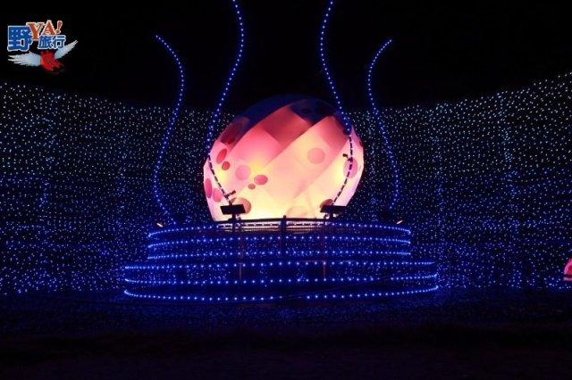 呼喚幸福的雙龍 上越妙高百萬LED點燈 @YA 野旅行-陪伴您遨遊四海