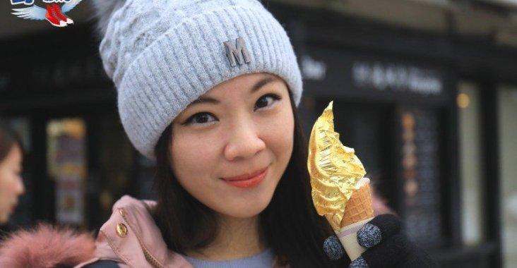 賞金澤兼六園雪景 品嚐超浮誇金箔冰淇淋 @YA !野旅行-玩樂全世界