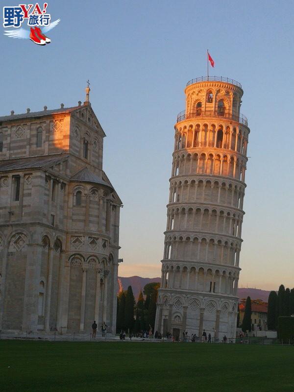 自駕悠遊義大利世界遺產 走訪奇蹟廣場比薩斜塔 @YA !野旅行-吃喝玩樂全都錄