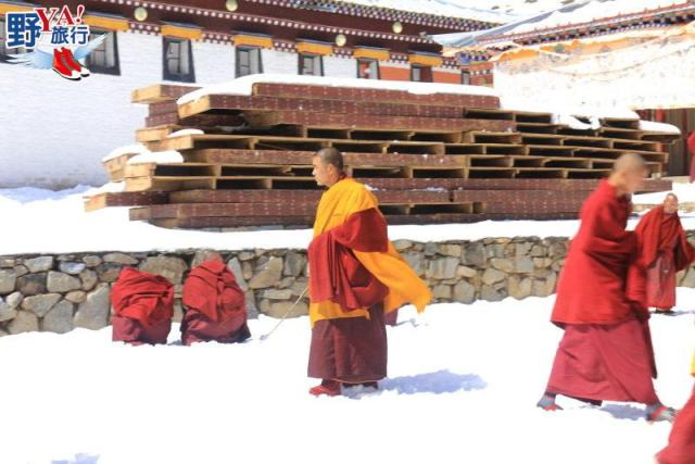 甘南藏族采風 東方小瑞士雪中郎木寺 @YA !野旅行-吃喝玩樂全都錄