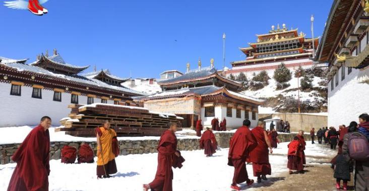 甘南藏族采風 東方小瑞士雪中郎木寺 @YA !野旅行-玩樂全世界