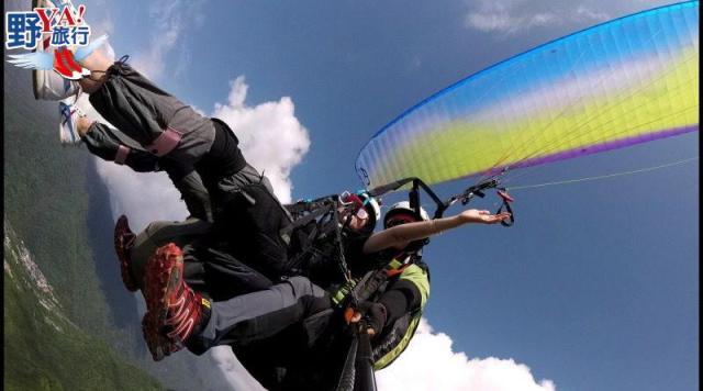 乘飛行傘翱翔太魯閣 看見台灣東海岸之美 @YA 野旅行-陪伴您遨遊四海