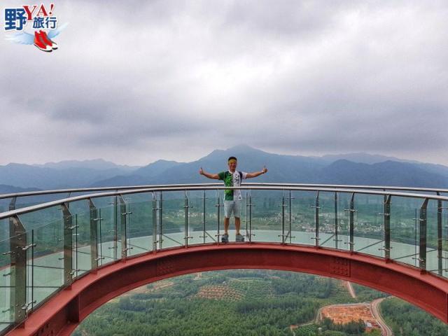 大陸|江西 龍南武當山天空玻璃棧道 @YA !野旅行-吃喝玩樂全都錄