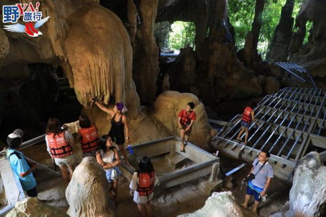 泰國 喀比 獨木舟穿梭紅樹林 千年石灰岩洞秘境探險 @YA !野旅行-吃喝玩樂全都錄