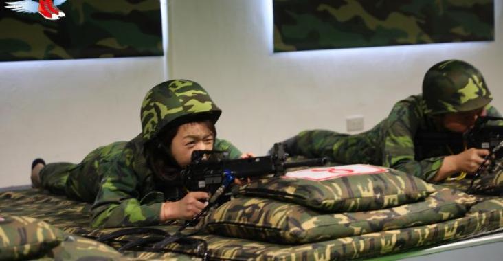 金門|烈嶼 后麟步槍模擬射擊 像打仗一樣熱血沸騰! @YA !野旅行-玩樂全世界