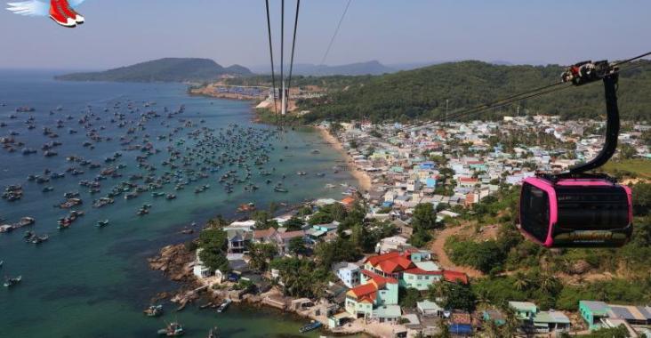 越南|富國島 世界最長三索跨海纜車 空拍機視角唯美海景 @YA !野旅行-玩樂全世界