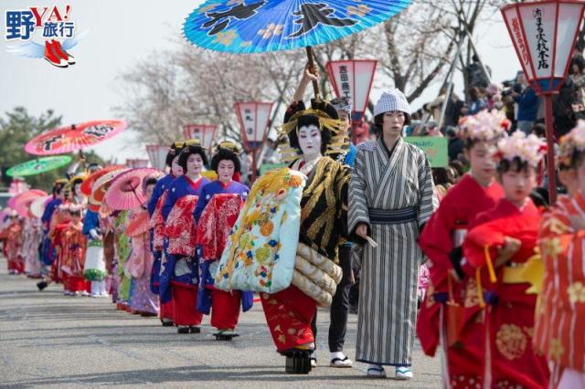 日本|新潟 四月春櫻繽紛絢爛 高田城百萬櫻花會 @YA !野旅行-吃喝玩樂全都錄