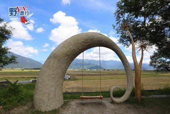 【新社梯田】超夯IG熱點 太平洋左岸的海稻田 @YA !野旅行-吃喝玩樂全都錄