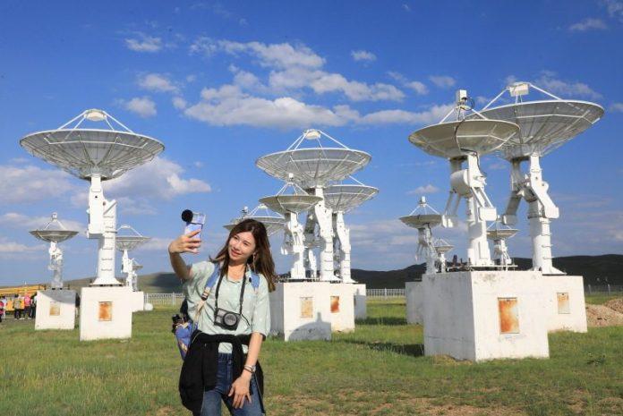 內蒙草原上的天眼 明安圖天文台璀璨銀河 @YA 野旅行-陪伴您遨遊四海