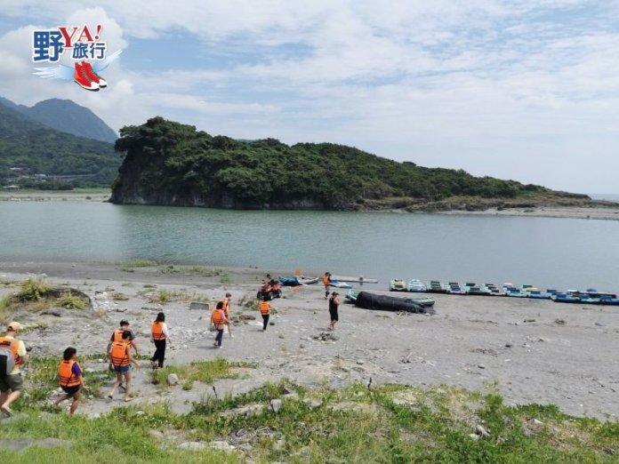 秀姑巒溪出海口悠然天地 花蓮靜浦太陽的部落 @YA !野旅行-吃喝玩樂全都錄