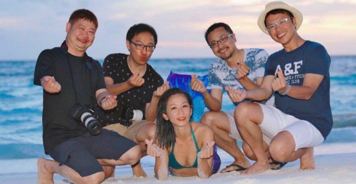 馬爾地夫伊瑚魯悅椿度假村潛水拍沈船 @YA !野旅行-玩樂全世界