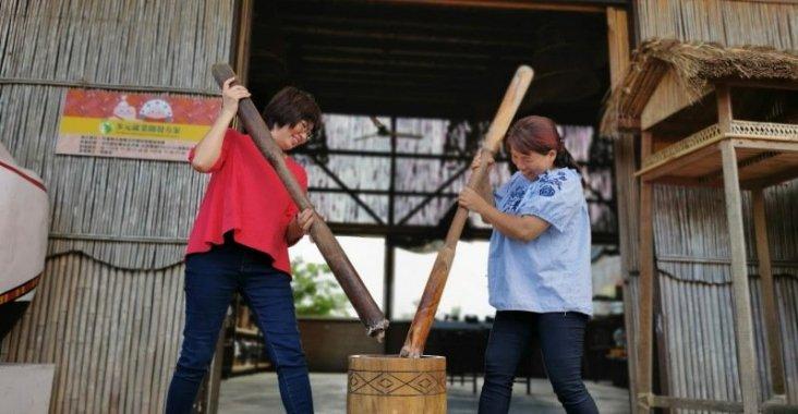 太巴塱阿美部落散策 有吃有玩的紅糯米文化體驗 @YA !野旅行-玩樂全世界