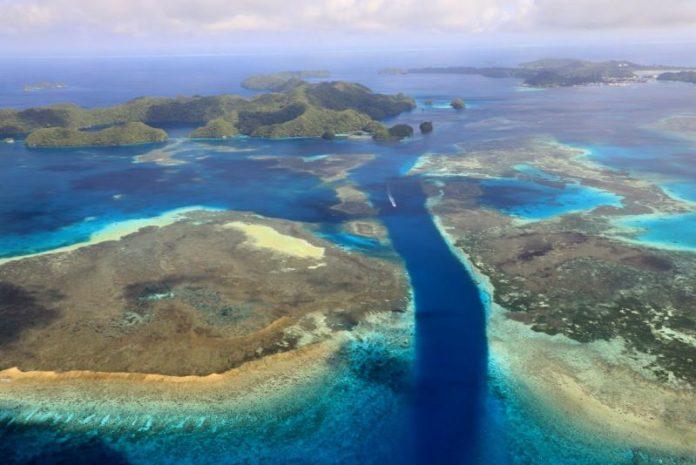 空拍帛琉世界自然遺產 散落南太平洋的綠寶石 @YA !野旅行-吃喝玩樂全都錄