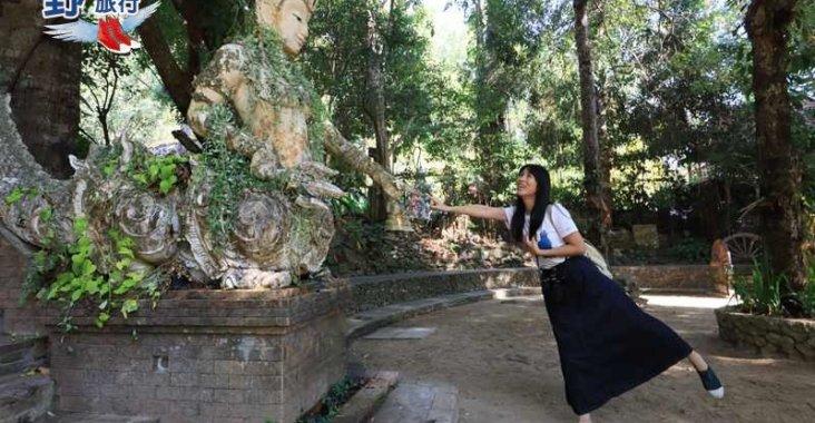 清邁超人氣景點雙龍寺參拜大象跌倒廟祕境尋幽 @YA !野旅行-玩樂全世界