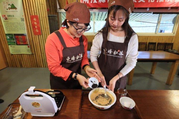 漫步九族粉紅花海  櫻花茶會邀四方遊客賞櫻品茶 @YA !野旅行-吃喝玩樂全都錄