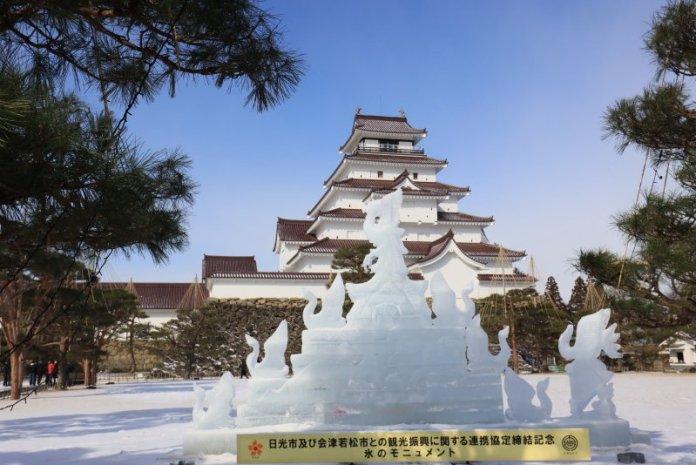 悠遊福島泡雪見溫泉 感受會津若松鄉土風情 @YA !野旅行-吃喝玩樂全都錄