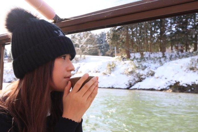 冰雪東北阿信的故鄉 山形最上川船歌悠揚 @YA !野旅行-吃喝玩樂全都錄