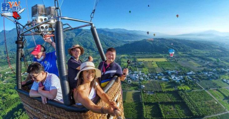 2021臺灣國際熱氣球嘉年華揭幕,全球唯一,希望升空! @YA !野旅行-玩樂全世界