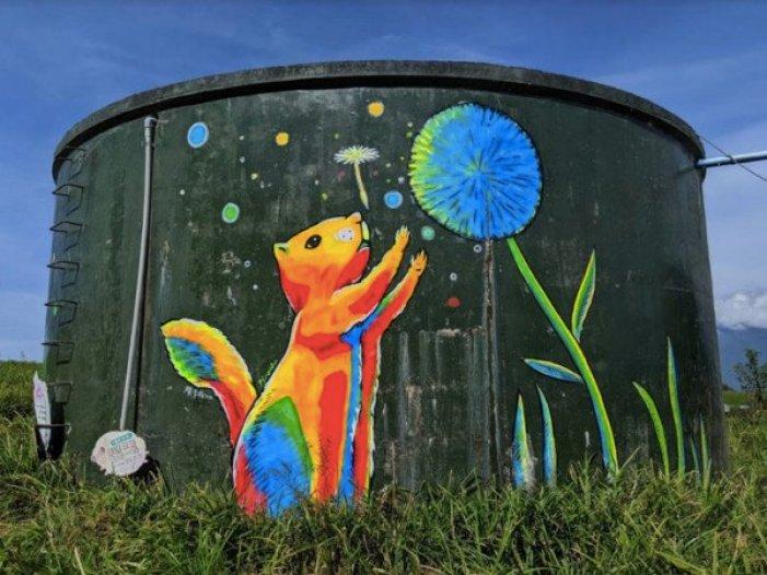 花蓮金針花季8月1日開跑 金針創意美食、螢光動物彩繪登場 @YA !野旅行-吃喝玩樂全都錄